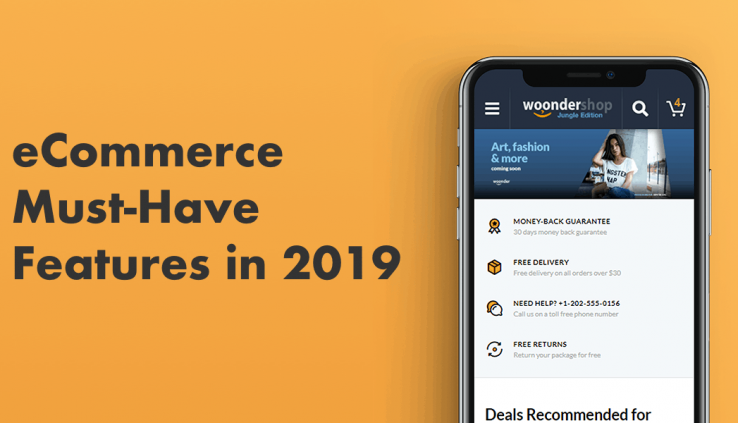 eCommerce Features 2019