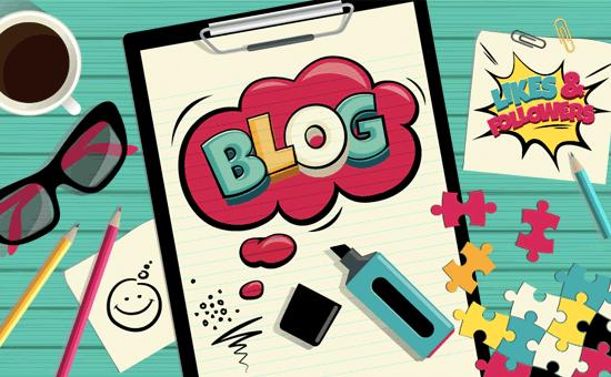 Blog on Website